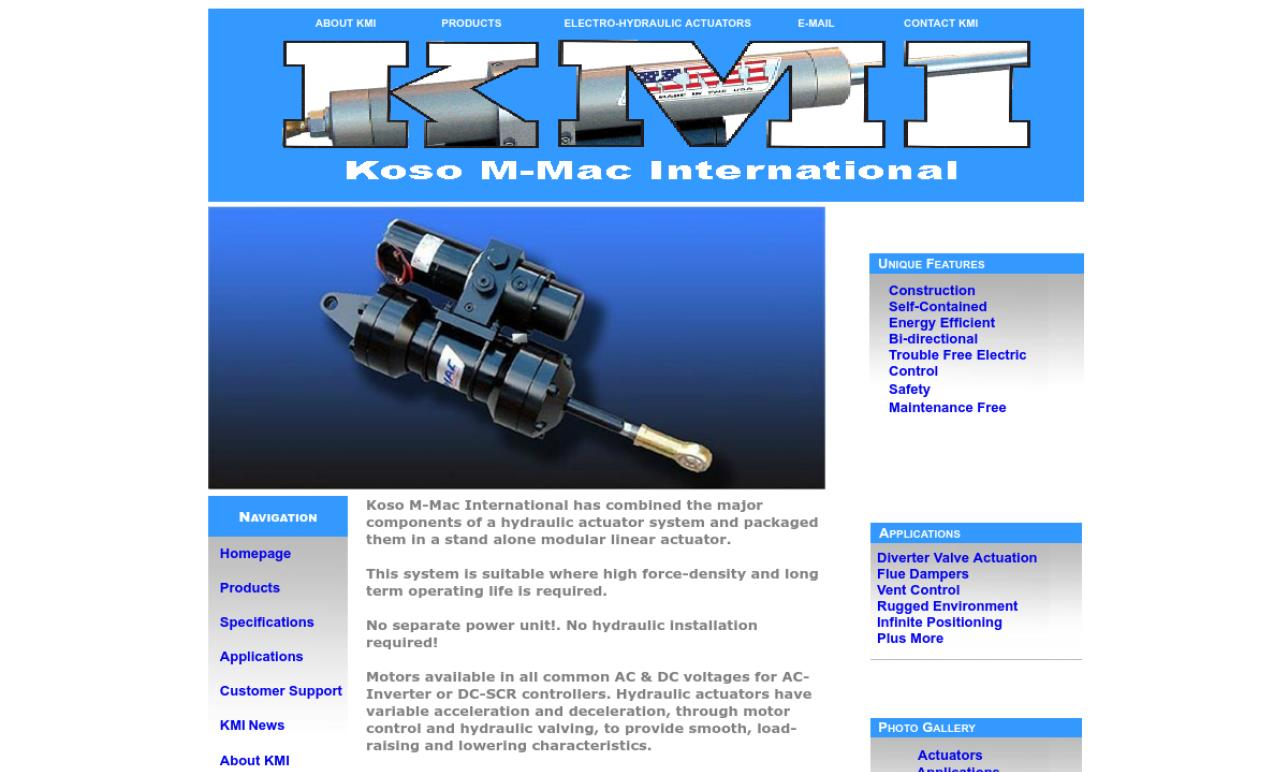 Koso M-MAC International, Inc.