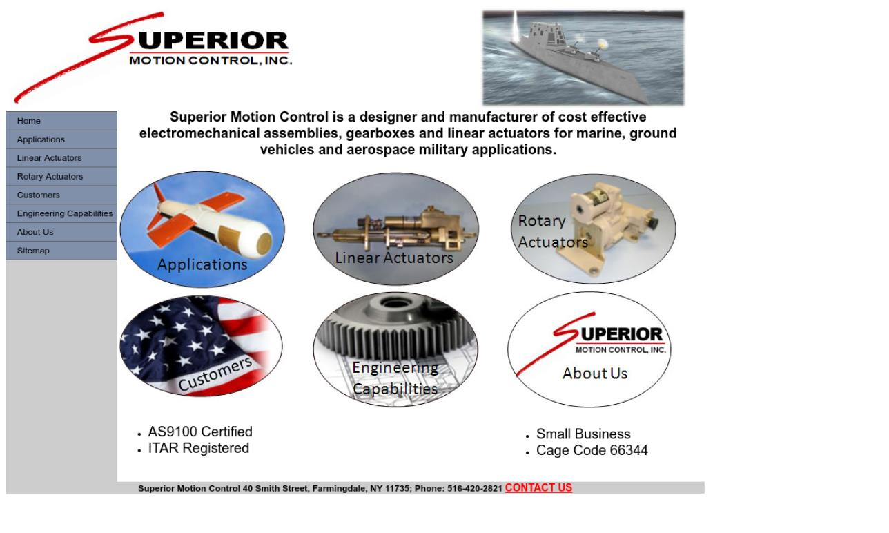 Superior Motion Control Inc.