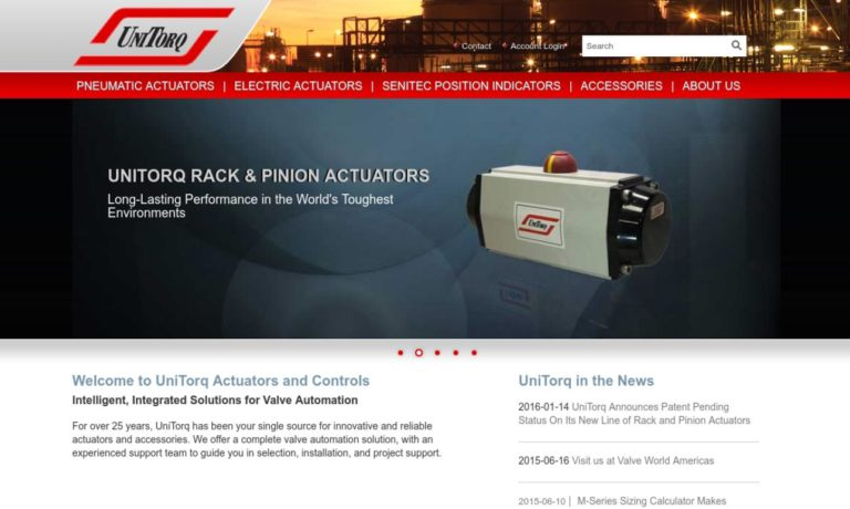 UniTorq Actuators & Controls